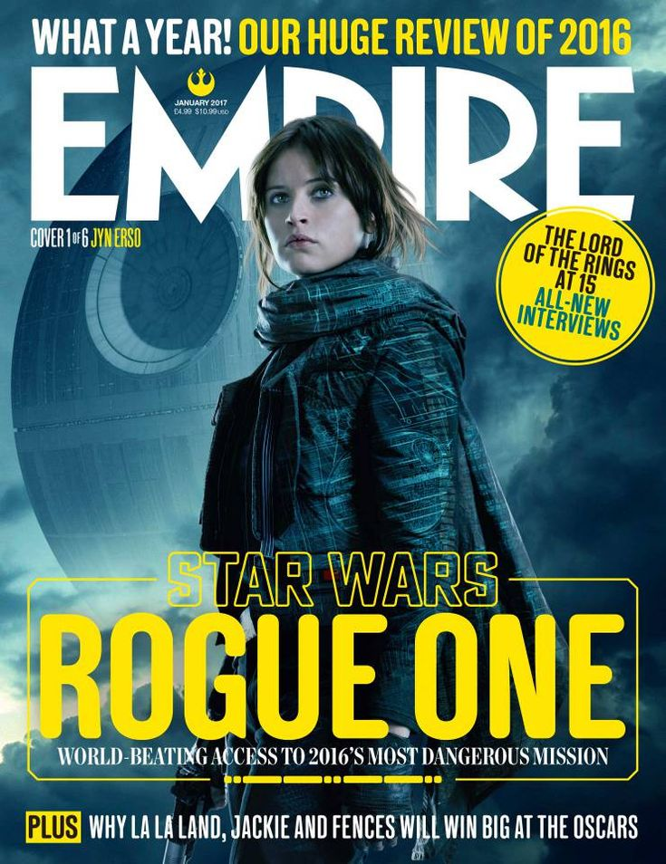 Rogue One: the rebels assemble on Empire's exclusive Star Wars covers