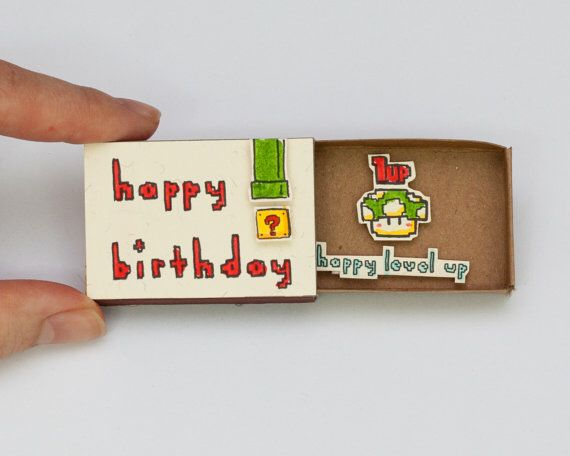 Matchbox Surprise: Matchbox with cute hidden messages to surprise your loved ones