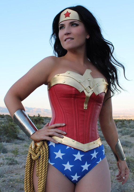 CLASSIC Wonder Woman Corset by VivaWW on Etsy