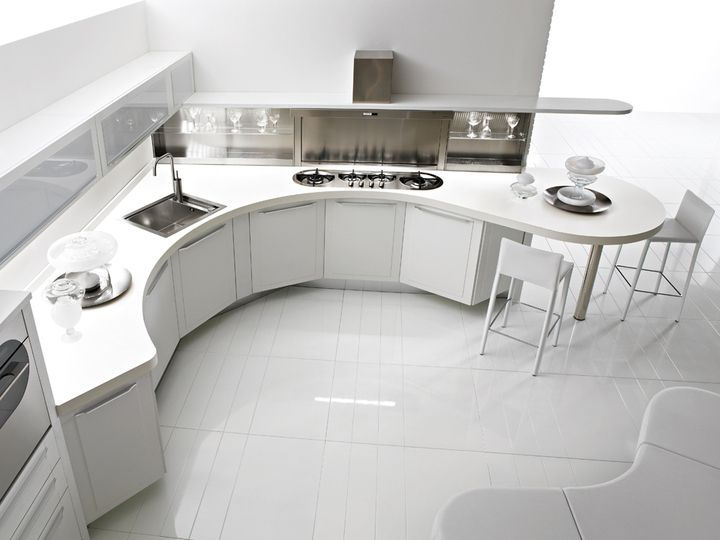 Modern olasz design konyha Quadra - www.montegrappamoblili.hu