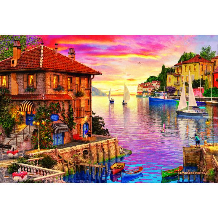 Educa Puzzle The Mediterranean Harbour 5000 Parça Puzzle Fiyatı