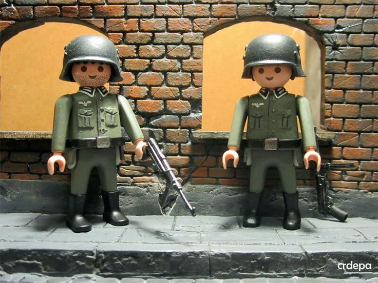 German soldiers #playmobil #ww2 #germansoldier