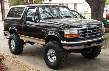 92 96 Ford Bronco Eddie Bauer Passenger Side Lean Back Leather ...