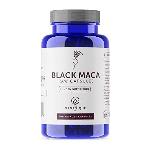 Black Maca Capsules - 150ct 500mg - Certified Organic, Raw, Non-GMO, Vegan, Gluten Free, and Nutrient Rich Superfood - Enhances Energy, Stamina, and Memory #Black #Maca #Capsules #Certified #Organic, #Raw, #GMO, #Vegan, #Gluten #Free, #Nutrient #Rich #Superfood #Enhances #Energy, #Stamina, #Memory