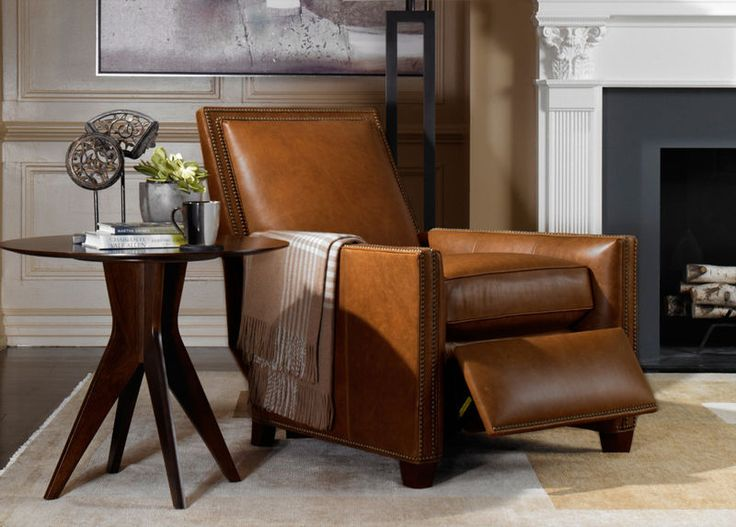 Randall Leather Recliner Old English/Saddle - Ethan Allen & 142 best Traditional u0026 Sophisticated images on Pinterest | Ethan ... islam-shia.org