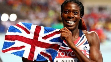 World Athletics 2013: Christine Ohuruogu wins gold in photo-finish