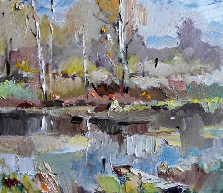 "Saatchi Art Artist Indie Ru; Painting, ""Platform"" #art"
