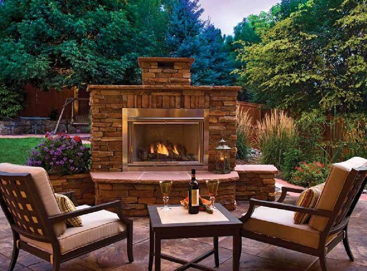 Denver Life home+design Summer 2015 Backyard fireplace