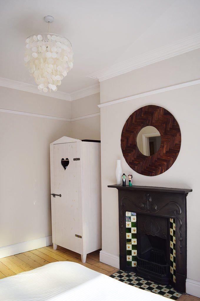 Edwardian Bedroom - Farrow & Ball Skimming Stone