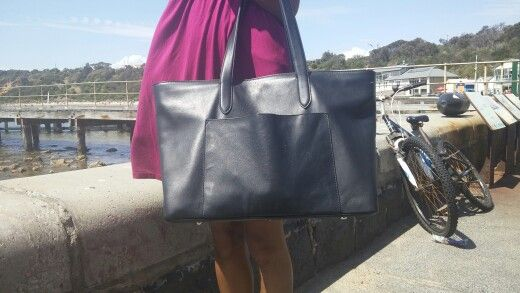 Ziptop #tote. The perfect carry all. #Personalise with your initials.