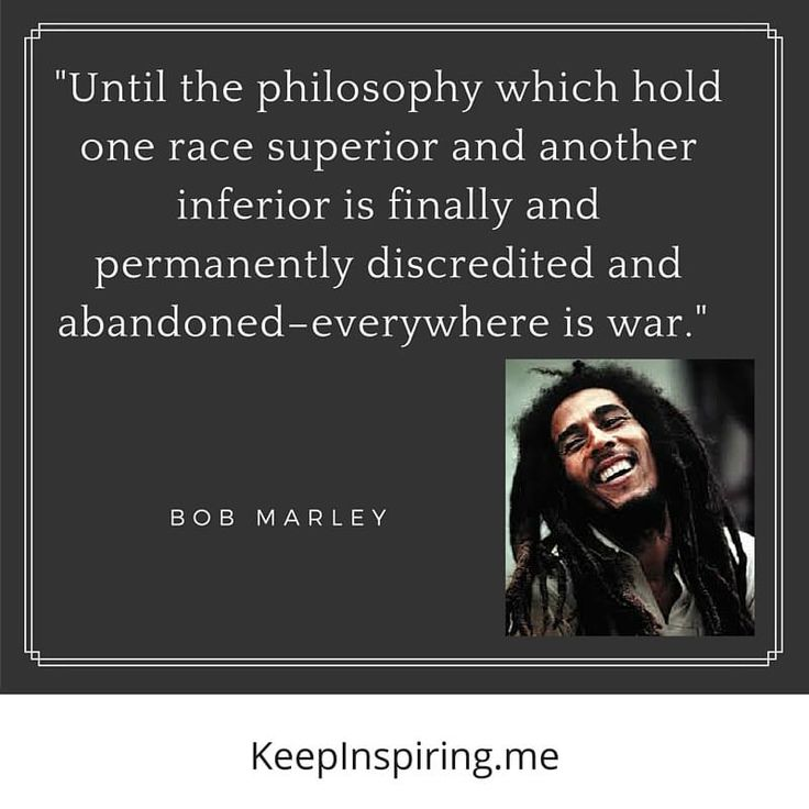 Bob Marley quote about war.