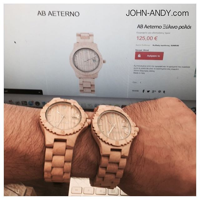 #johnandy #watches #made by #wood #call_for_orders #00302109703888  #watch #out and #wear it