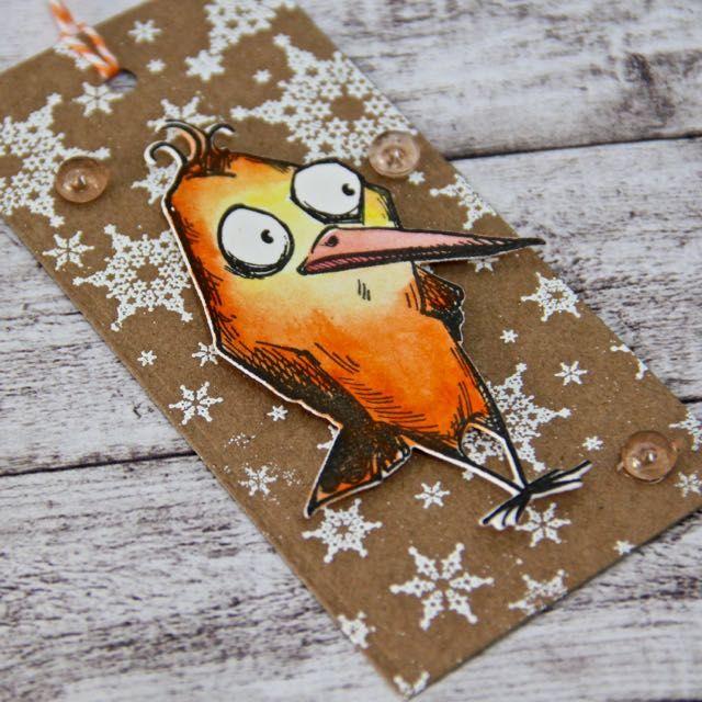 KačkaD - www.broucek.cz a www.katecrafts.com: Visačky na dárky - jak na ně