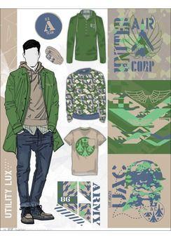 Fashion flats layout