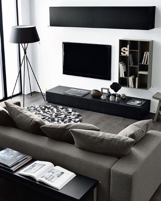 Best bachelor pad decor ideas on pinterest black and for Modern bachelor pad ideas