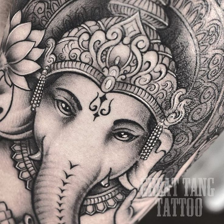 Tattoo Designs Ganesh: Ganesha Tattoo By Meng Xiangwei @greattangtattoo Http