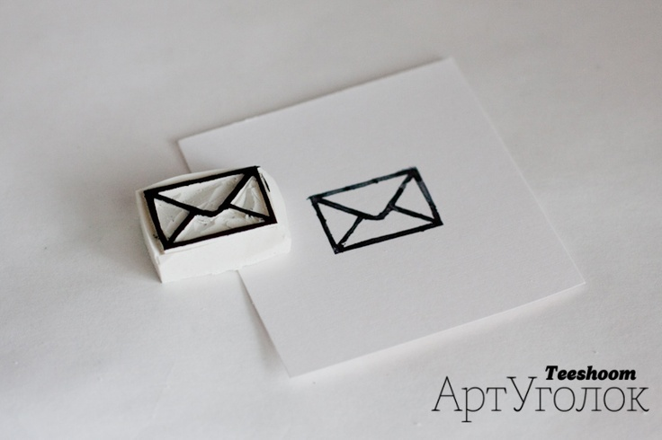 DIY -- Envelope Stamp Tutorial