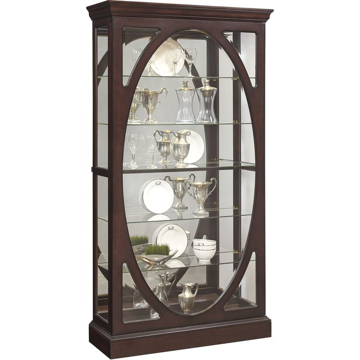 Curio Cabinet in Brown   Pulaski   Home Gallery Stores. 291 best Curio Cabinets and Display images on Pinterest