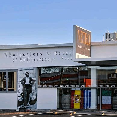 Vetro Trading Rotorua Shopping delicatessan for wine, cheese, and fine mediterranean foods, gifts and treats.