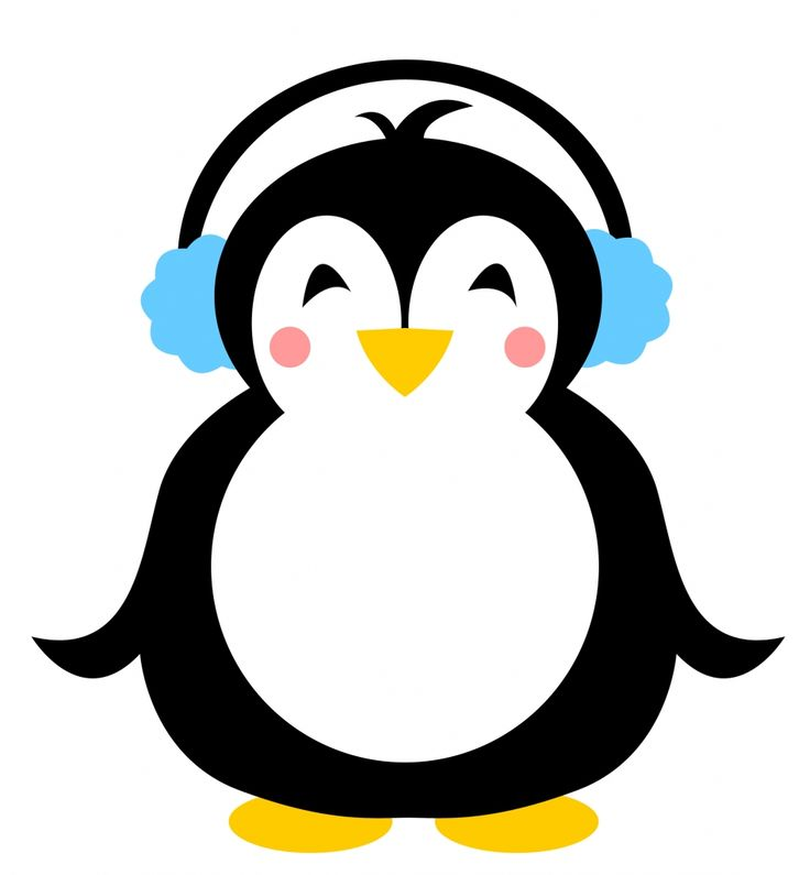 It is a picture of Sly Penguin Template Printable