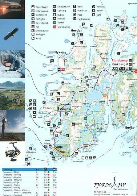 Best Sommerferie Helgeland Steigen Lofoten Vesterålen - Vesteralen norway map
