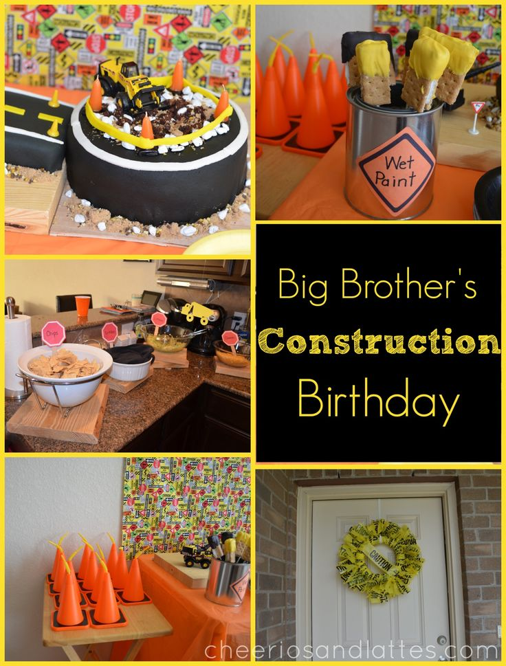 Whether it's building with Legos or helping Daddy fix something around the house, Big Brother loves all things 'construction' right now! So this year, falling in second on this li…