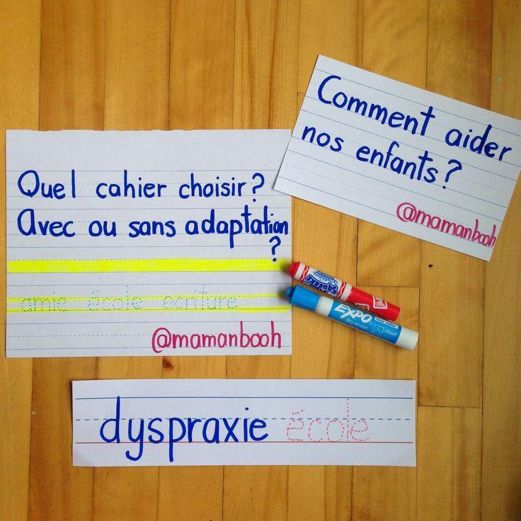 Comment aider son enfant dyspraxique? #dyspraxie #écriture #TAC
