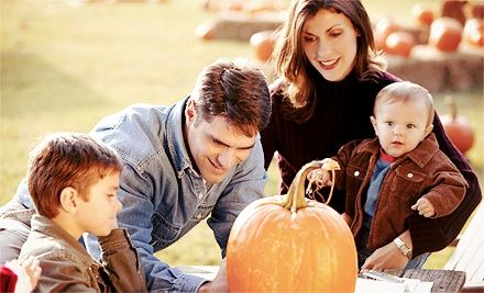 Groupon - $ 40 for a Fall-Festival Package for Four with Hayride at The Pumpkin Patch Fall Festival San Antonio ($ 80 Value). Groupon deal price: $40.00
