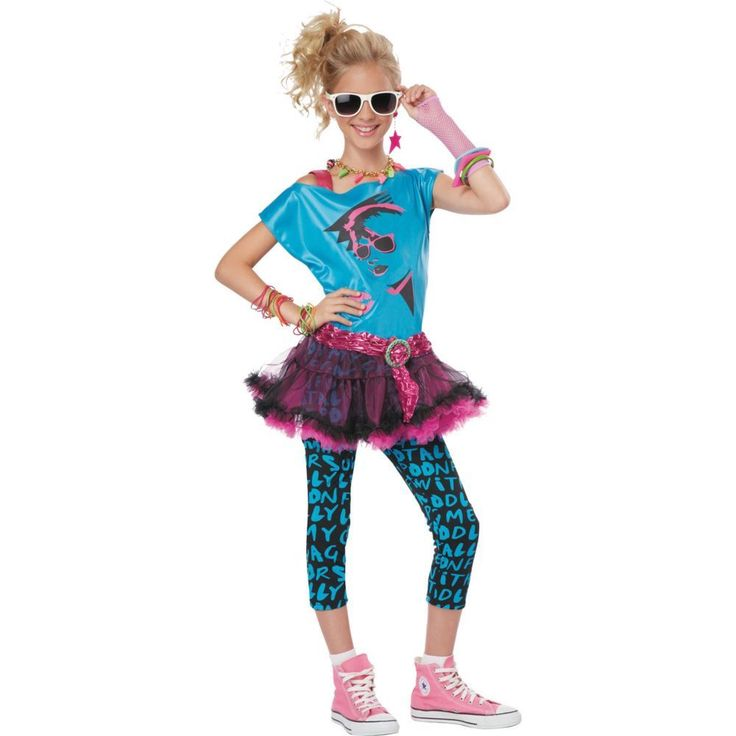 80s Valley Girl Girls Halloween Costume