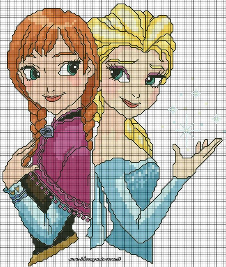 patron tricot reine des neiges