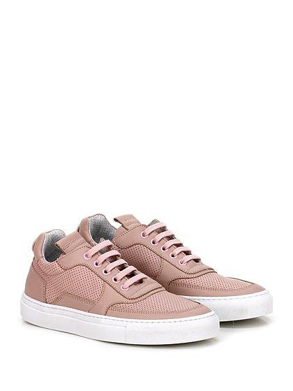 Mariano Di Vaio - Sneakers - Donna - Sneaker in pelle e pelle micro forata con suola in gomma. Tacco 25. - CIPRIA - € 198.00