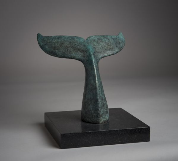 Bronze Wild Animals and Wild Life sculpture by sculptor Anthony Smith titled: 'Humpback Whale'