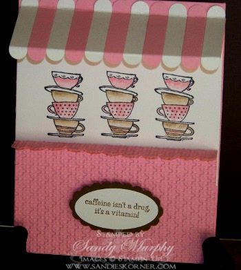 Morning Cup Stampin UpCards Ideas, Cards Stampin, Cups Stampin, Carol Cards, Cups Version, Coffee Cups, Bundle Holiday, Cups Cards, Holiday Bundle