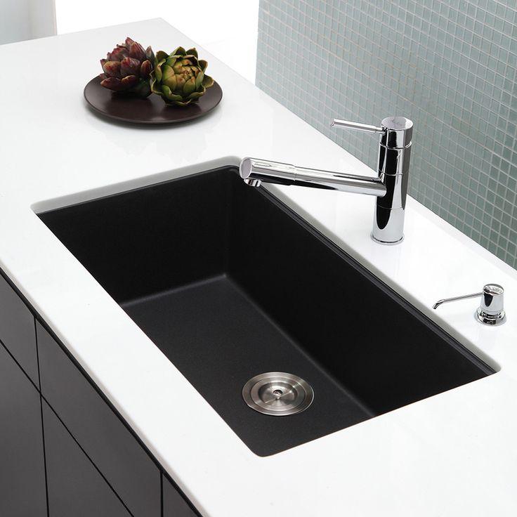 Kitchen With Black Sink: 17 Best Ideas About Black Sink On Pinterest