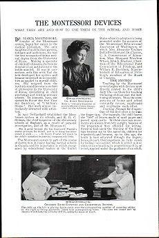 Maria Montessori. (Chiaravalle, 1870 - Noordwjek, 1952)  Pedagoga italiana que renovó la enseñanza desarrollando un particular método, conocido como método Montessori.