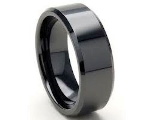 ♥♥♥♥ High-Tech Ceramic 8mm Ring is made with a silkyfit rounded inside shank. Very Comfortable. We have polished the inside and outer edges to a high