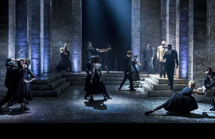 Romeo and Juliet review at the Garrick Theatre, London – 'old fashioned and overeager'