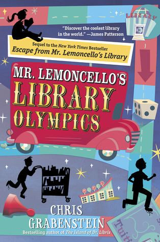 Mr. Lemoncello's Library Olympics - a way to get Olympic-y without the Olympics branding?