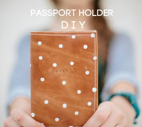 DIY Passport Holder