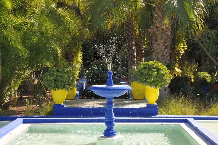Fonte Jardim Majorelle