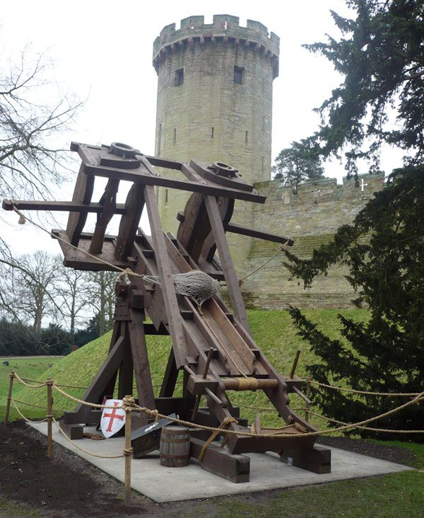The Ballista, Warwick castle. Went here last year as it's right by me :)