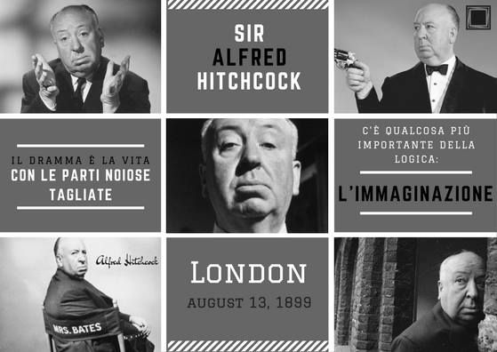 Happy b-day to Sir Alfred Hitchock   #RFA #RomaFilmAcademy