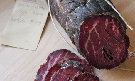 Call it bresaola, call it spiced, air-dried beef but it's one of the simplest bits of charcuterie to do at home and makes a great first project