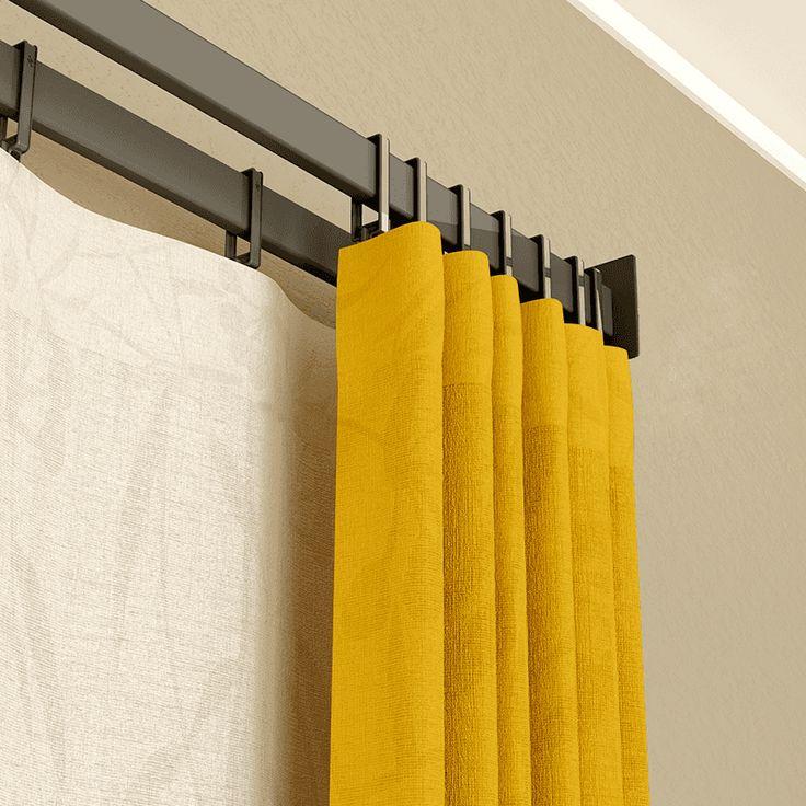 M s de 25 ideas incre bles sobre soportes de cortina en - Soportes adhesivos para cortinas ...