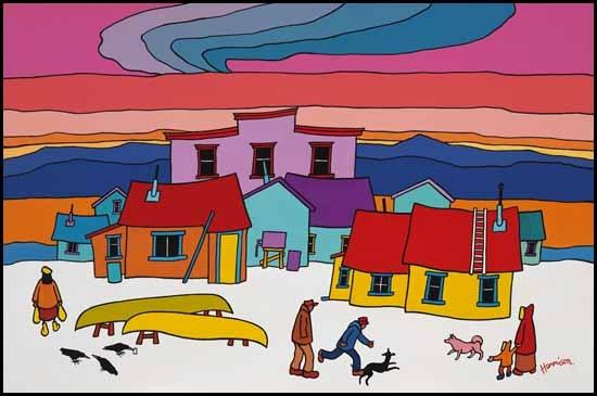 Ted Harrison, Peter's Yukon