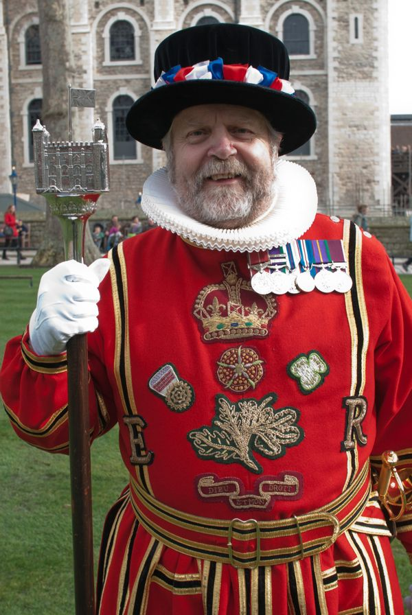 Yeoman Warder, Tower of London