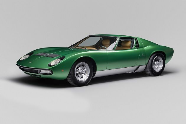 ランボルギーニのレストア部門が手掛けた最初の1台、1971年製「ミウラSV」がコンクール・デレガンスに登場