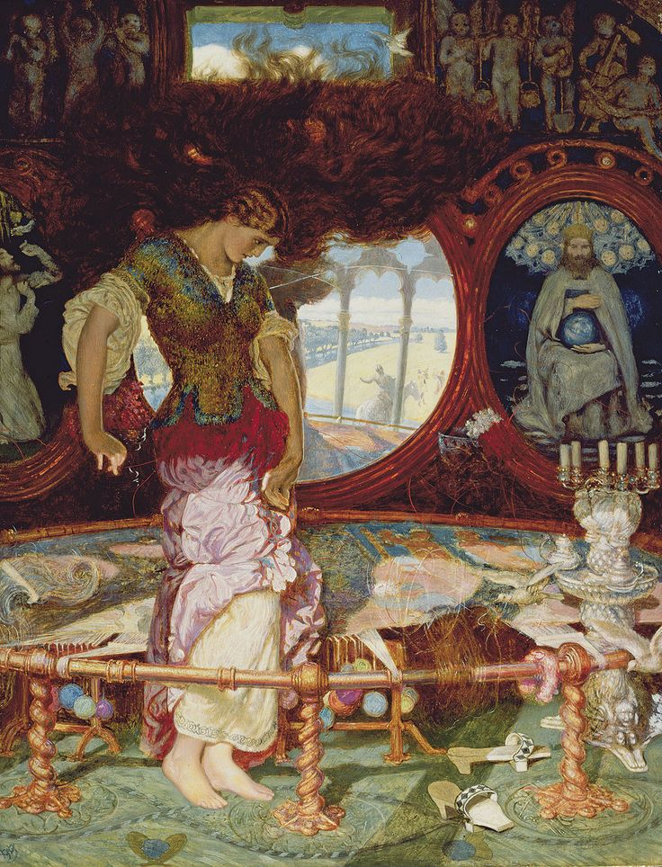 WILLLIAM  HOLMAN  HUNT    --  Reflections: Van Eyck and the Pre-Raphaelites at the National Gallery