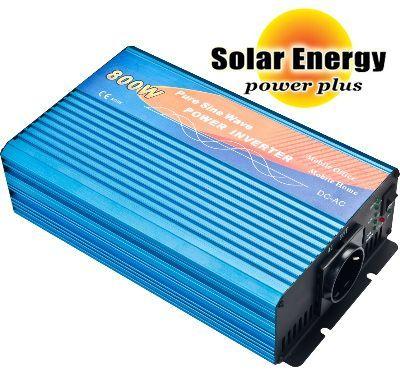 Inverter 800WATT-12V, καθαρού ημιτονου 12 v 220 v