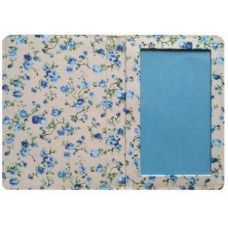 Blue Blossom Print Passport Cover Made by Miss Pretty London in Greater #London - £6.99